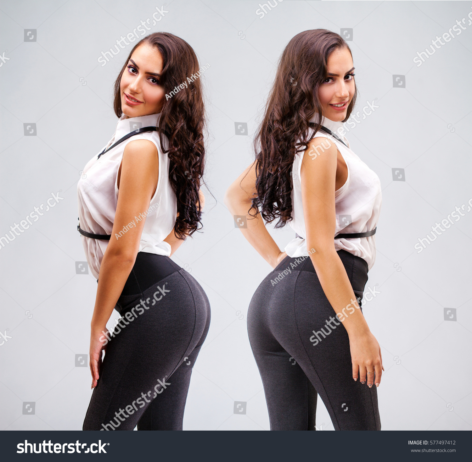 Hot girl models with big ass Collage Big Sexy Ass Young Arabic Stock Photo Edit Now 577497412