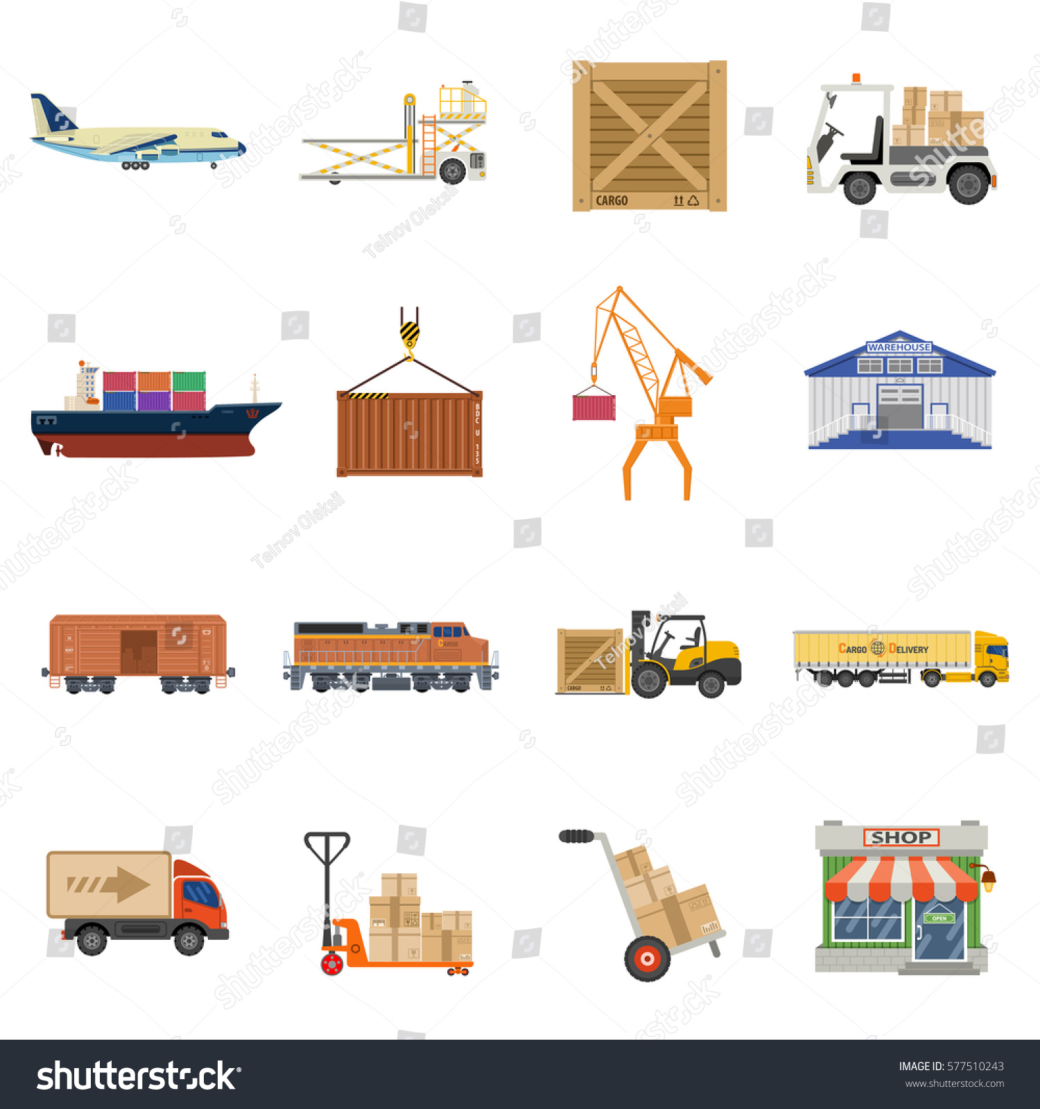 Shipping Delivery: Cargo Transport Packaging Shipping Delivery Logistics
