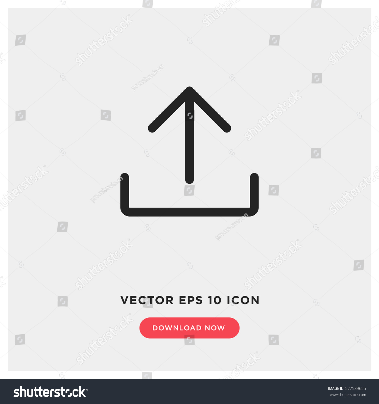 Upload vector icon add cloud symbol stock vector 577539655 upload vector icon add to cloud symbol modern simple flat vector illustration for biocorpaavc Gallery