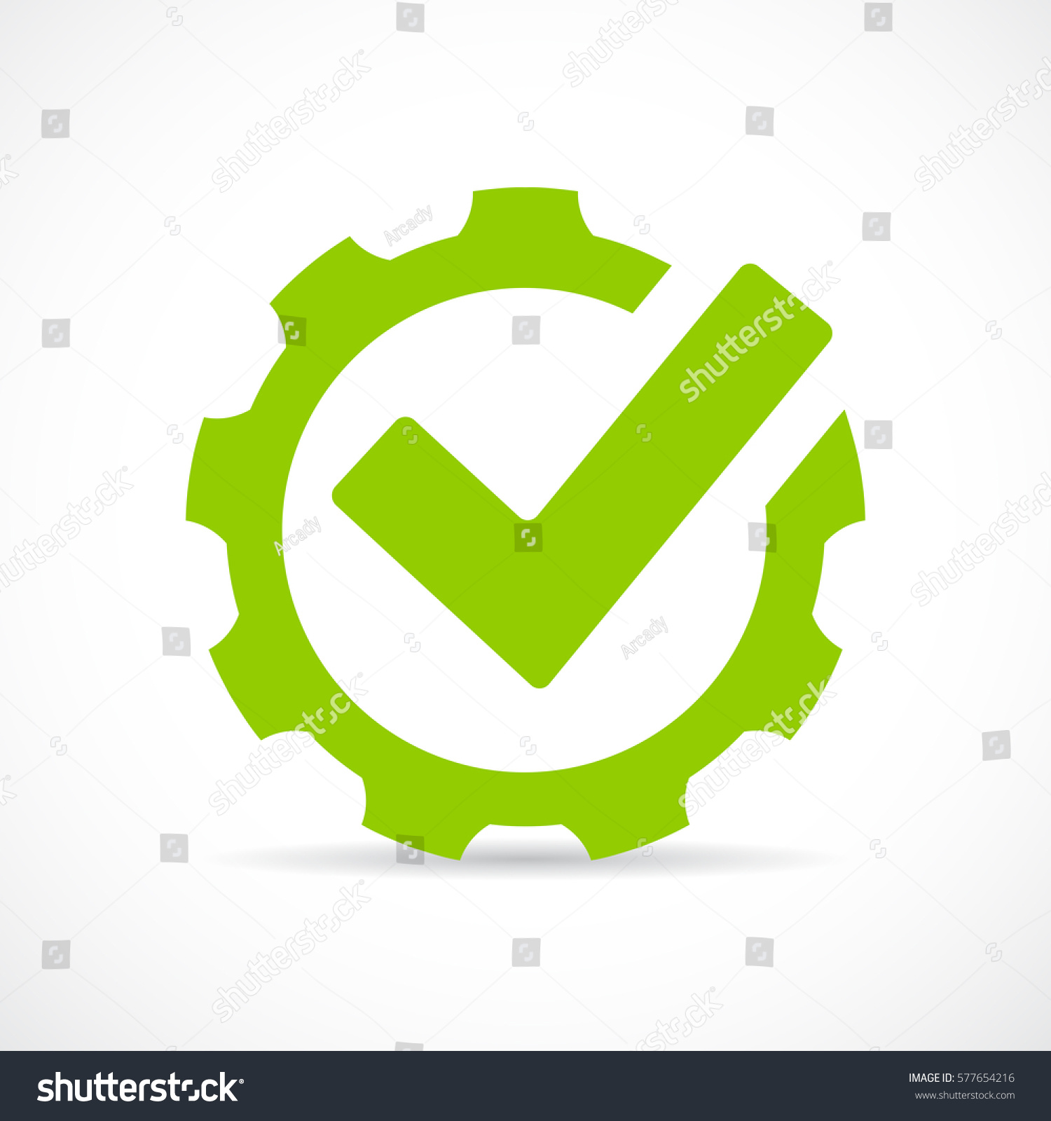Abstract Technical Vector Icon Illustration On Stock