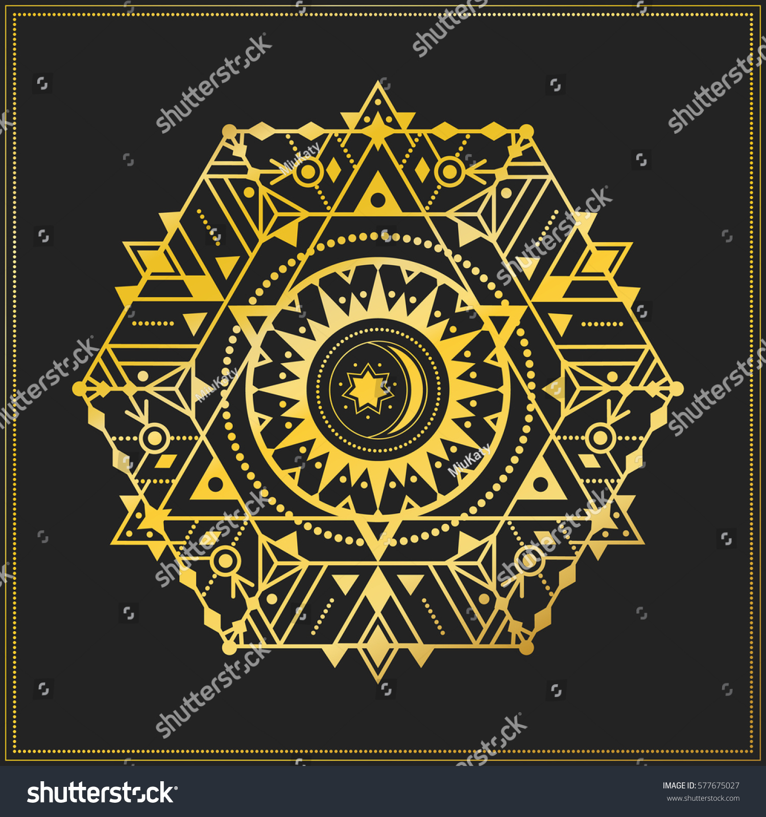 Sacred geometry symbol star sun alchemy stock vector 577675027 sacred geometry symbol with star and sun alchemy or astrology esoteric or mystic circle biocorpaavc Images