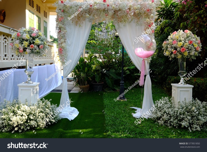 Wedding Reception Entrance Stock Photo Edit Now 577851850
