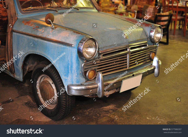 Old Retro Vintage Car Classic Vehicle Stock Photo (Royalty Free ...