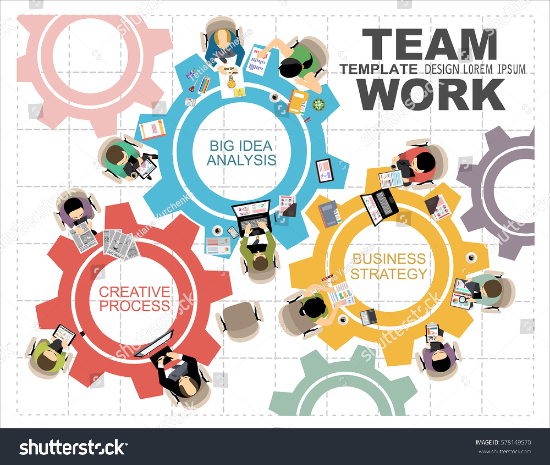 Flat Design Illustration Concepts Business Analysis Stock Vector 578149570 Shutterstock