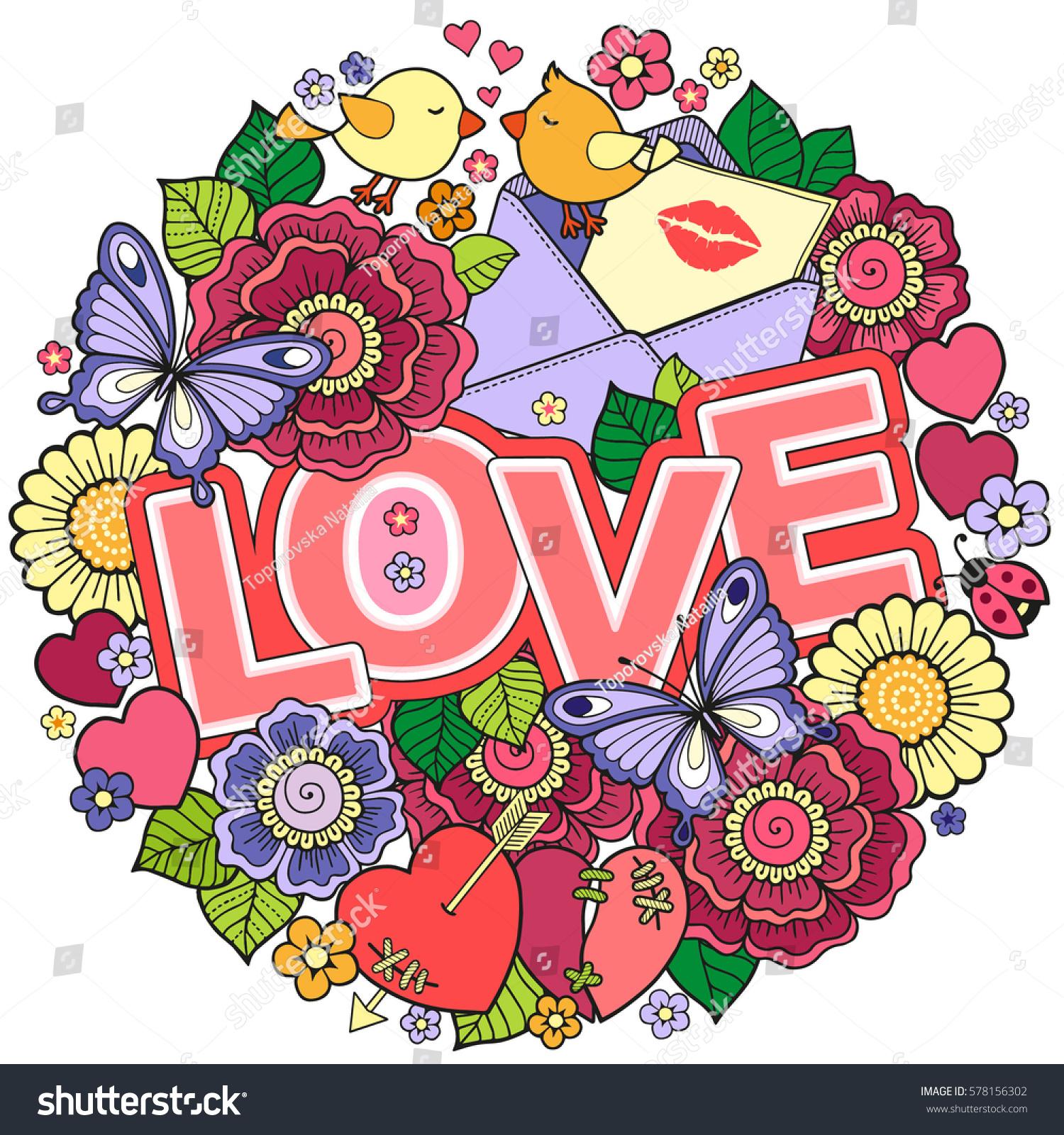 Greeting Card Lovers Honeymoon Wedding Invitations Stock ...