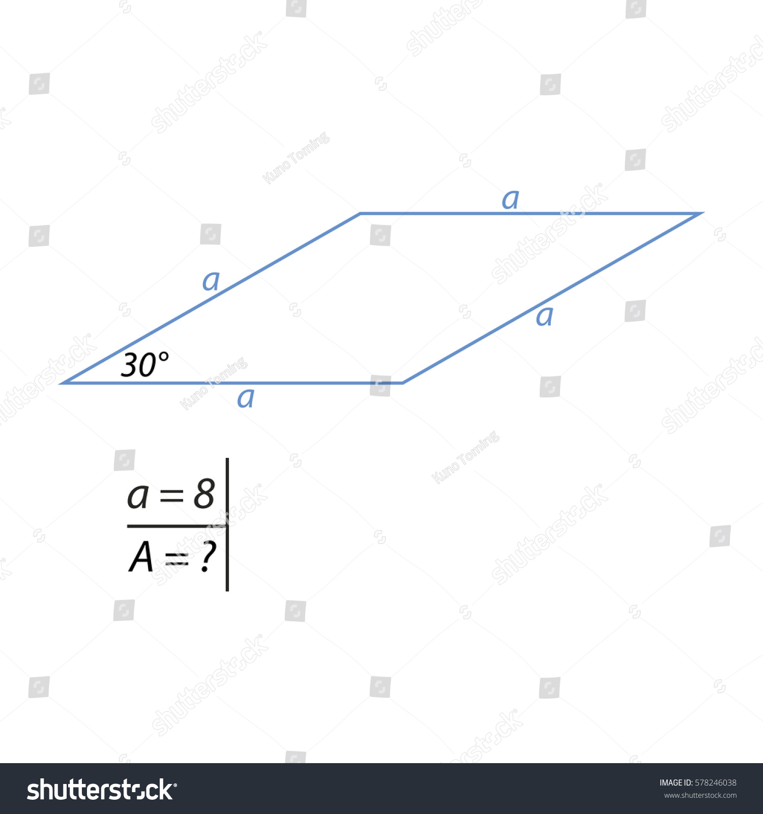 Diagonal How To Find The Perimeter Find The Area Of A Rhombus