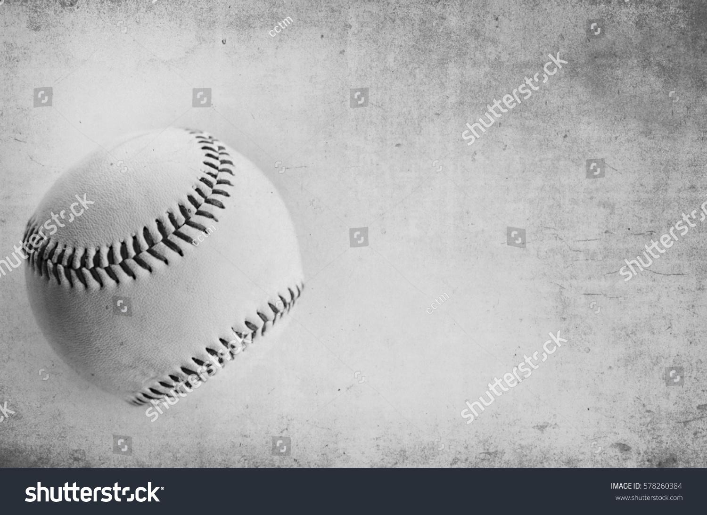 grunge texture black white baseball image stock photo