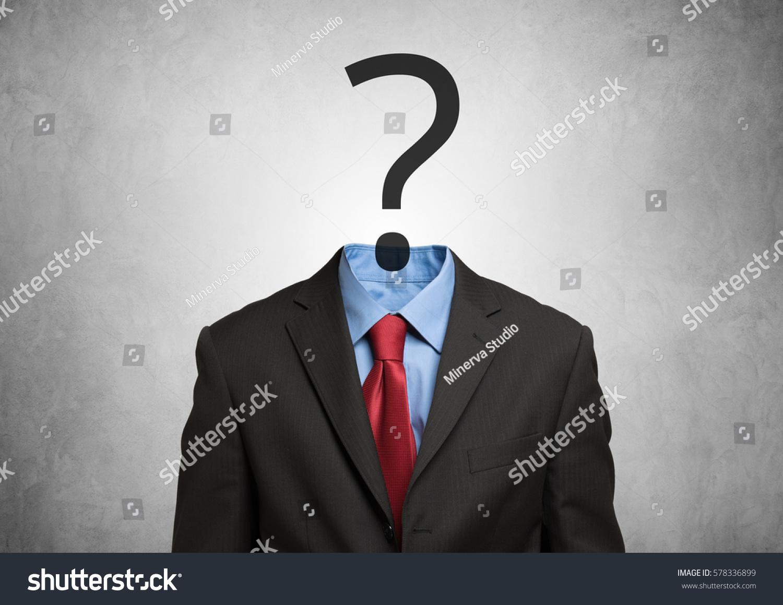 Headless Royalty Free Stock Music  >> Headless Man Having Doubts Stock Photo Royalty Free 578336899