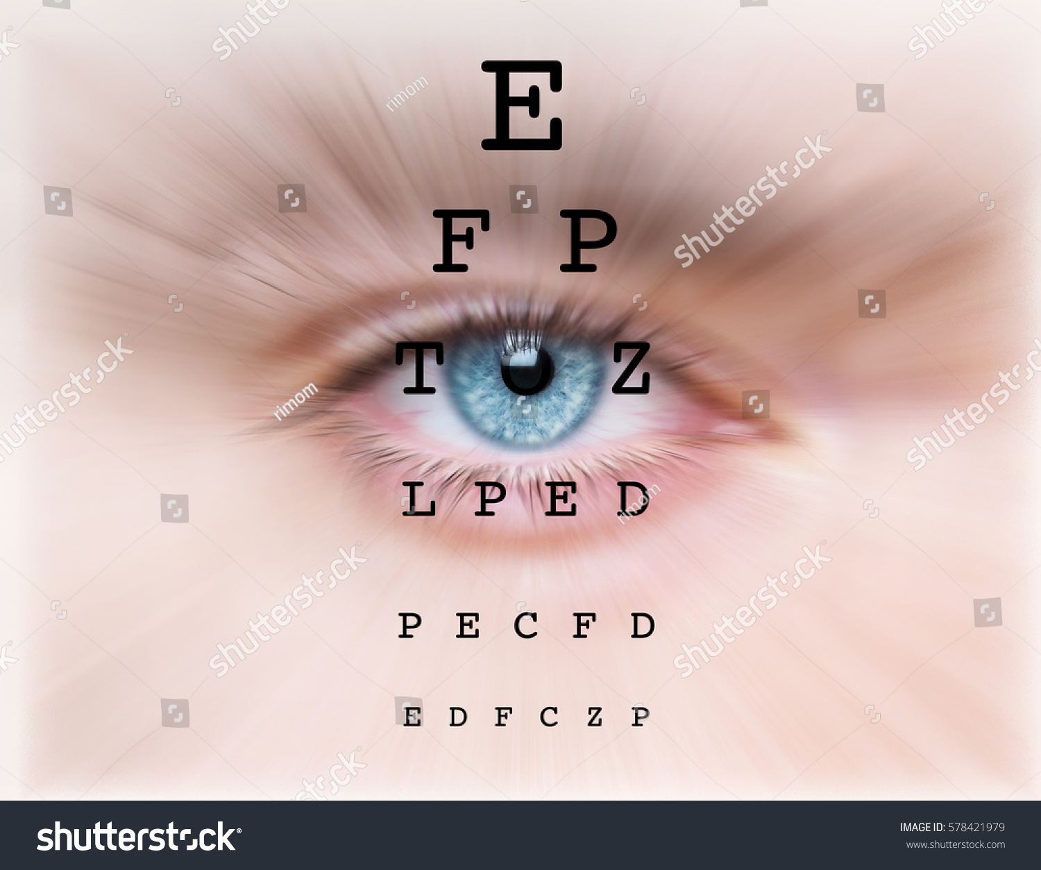 Eyes test chart stock photo 578421979 shutterstock eyes test chart geenschuldenfo Image collections