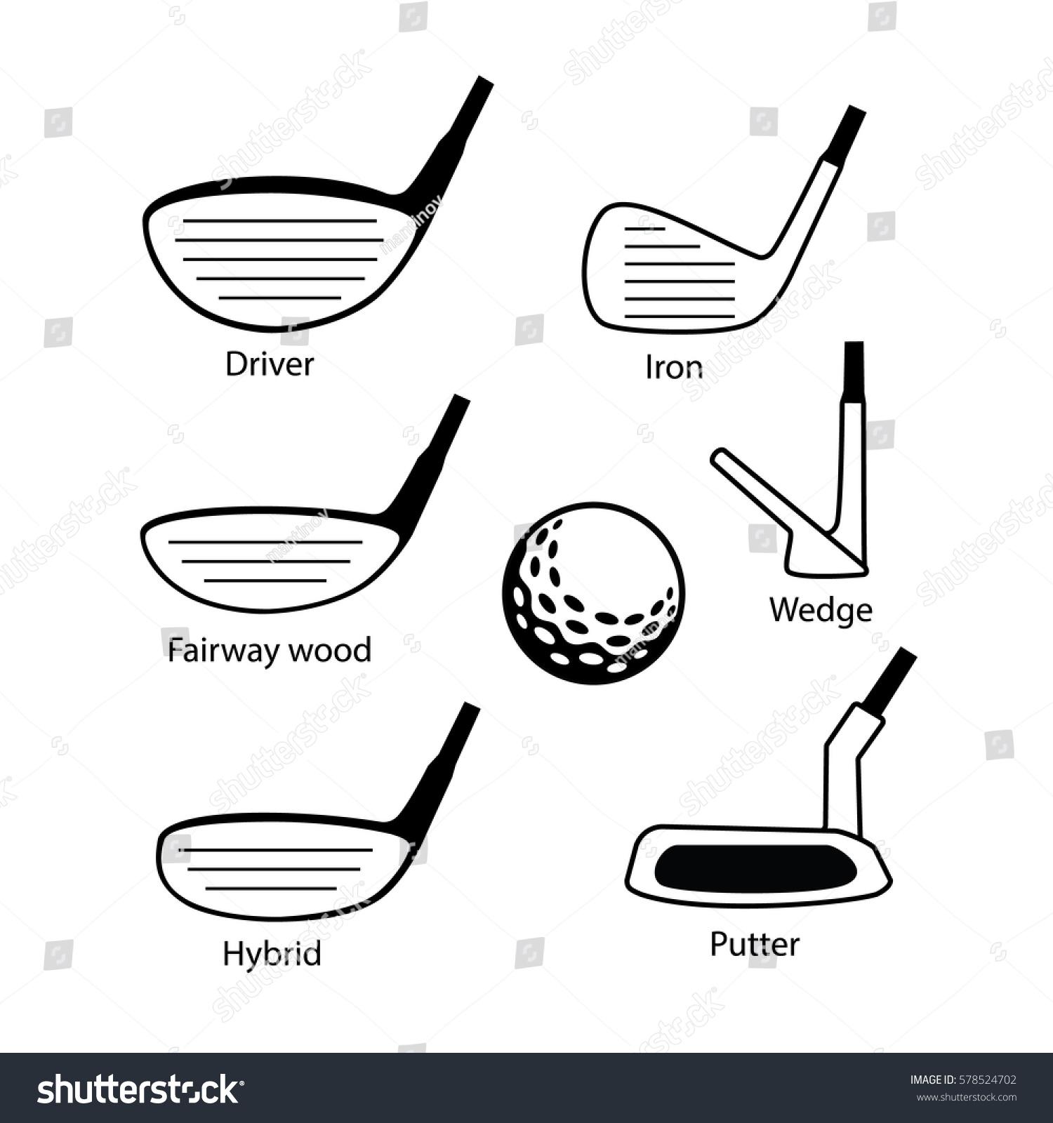 Diagram Of Golf Club Wood Art - Wiring Diagram For Light Switch •