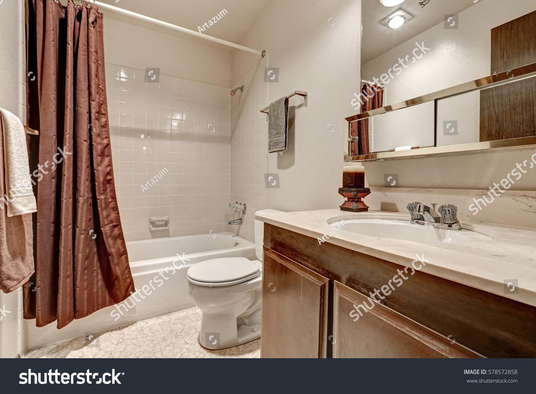 Two Tones Bathroom Interior Design Apartment Stock Photo 578572858 Shutterstock