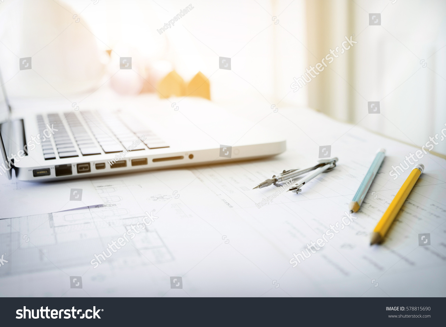Construction equipment repair work drawings building stock for Architectural engineering concepts