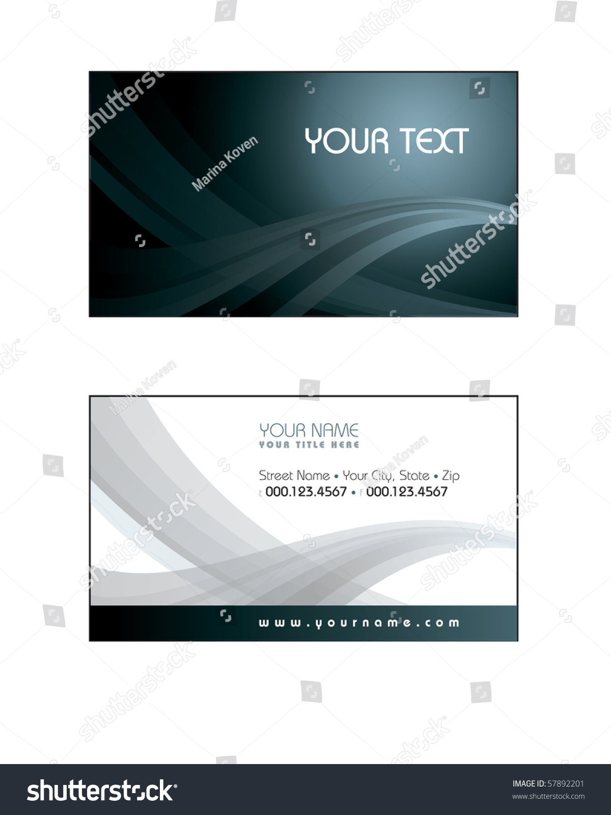 business card template eps 28 images business card template 10