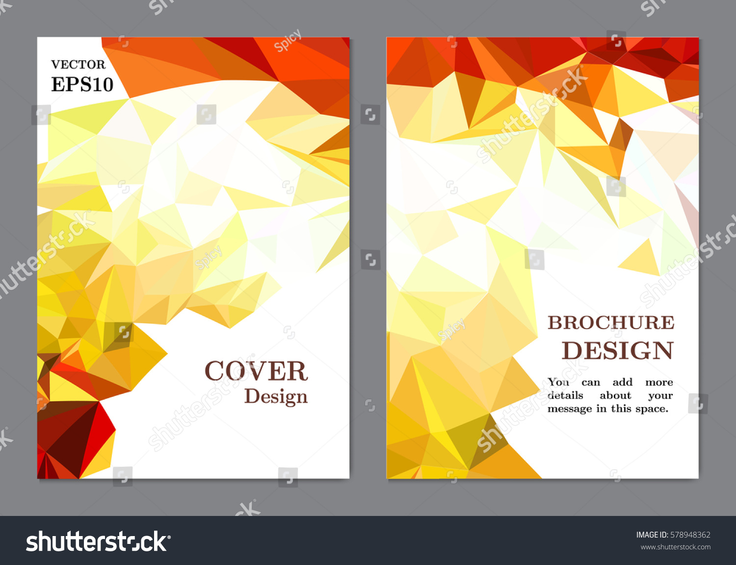 Book Cover Design Sites : Background business book cover design template stock