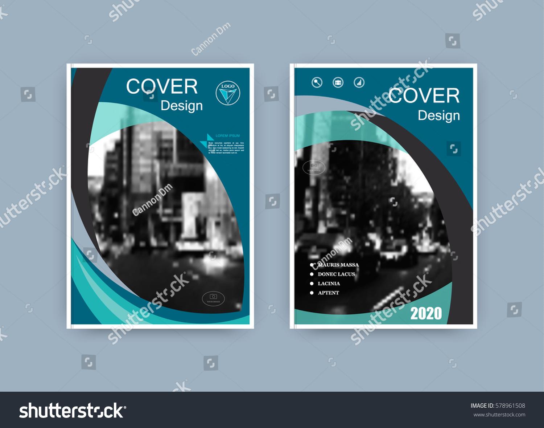 Creative Book Cover Design Vector ~ Creative book cover design abstract composition stock