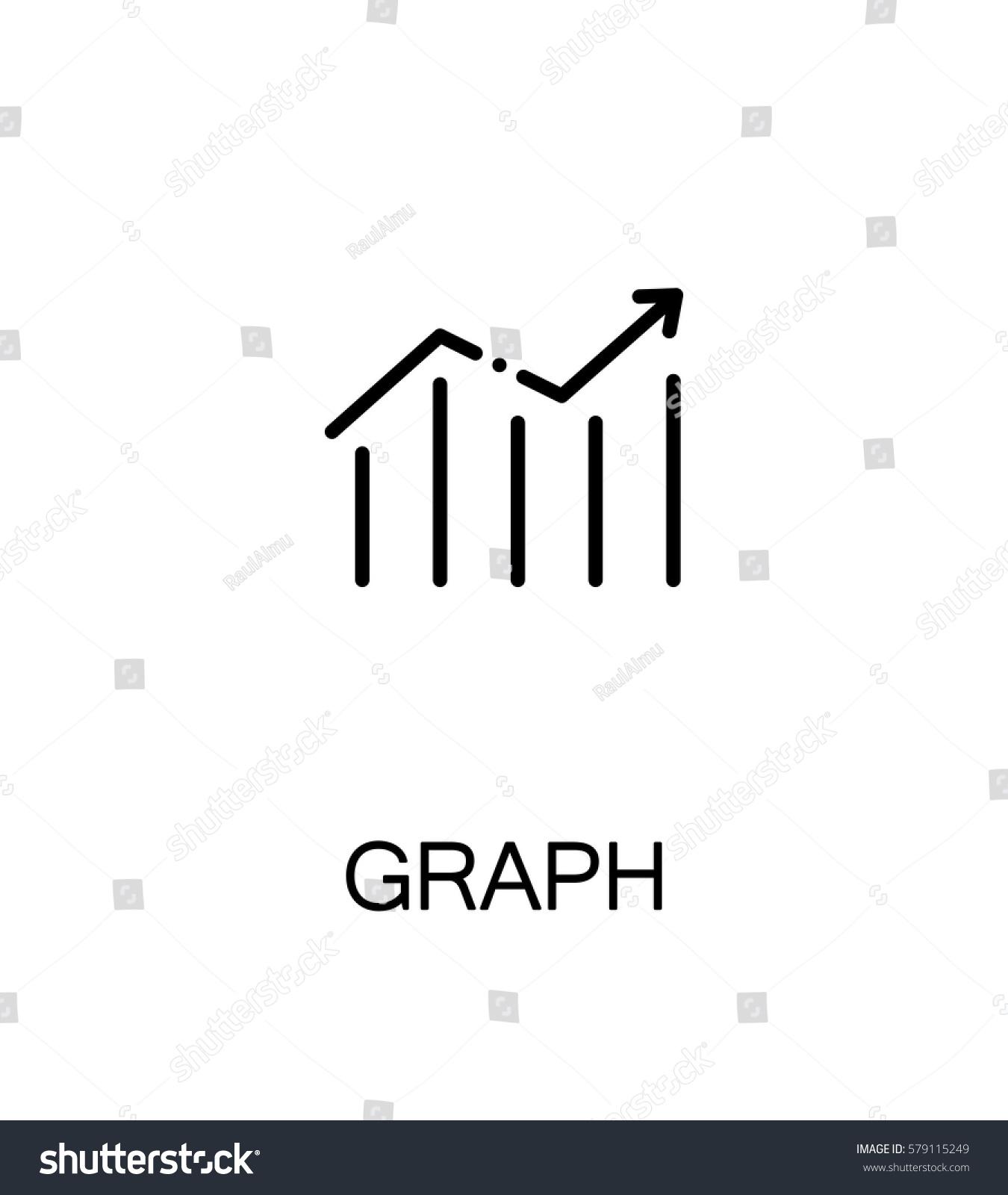 Graph icon single high quality outline stock vector 579115249 single high quality outline symbol for web design or mobile app thin buycottarizona
