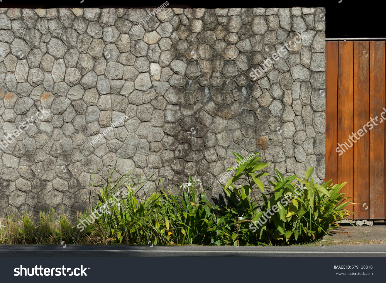 Exterior architecture stone wall texture background stock for Exterior background