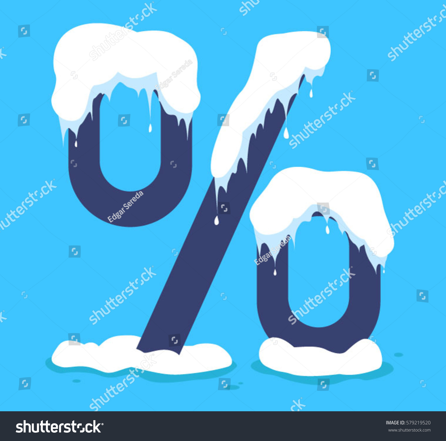 Snow drifts percent fresh water global stock vector 579219520 global cooling and climate change vacation and biocorpaavc Images