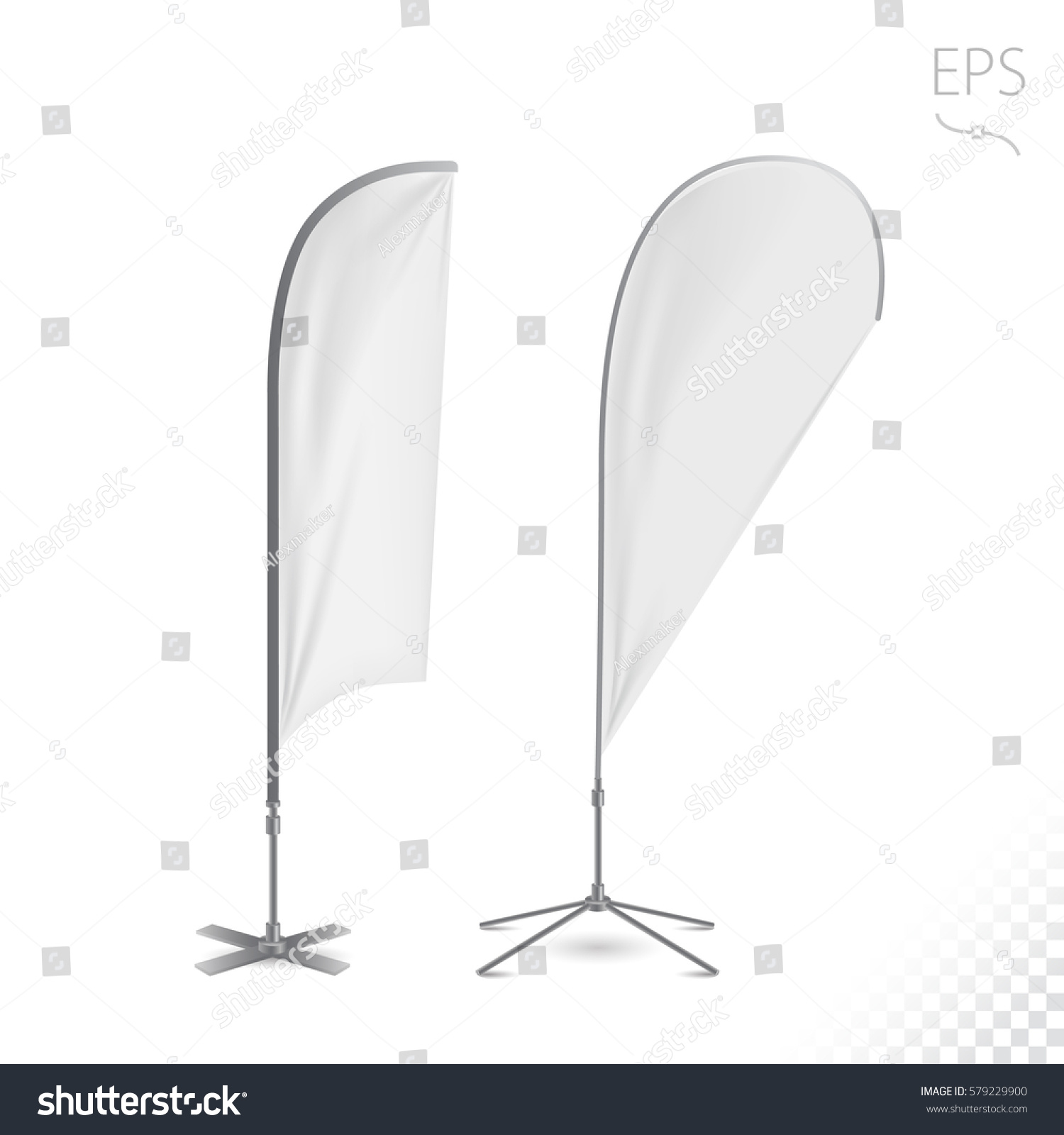 outdoor feather flag advertising banner shield stock vector 579229900 shutterstock. Black Bedroom Furniture Sets. Home Design Ideas
