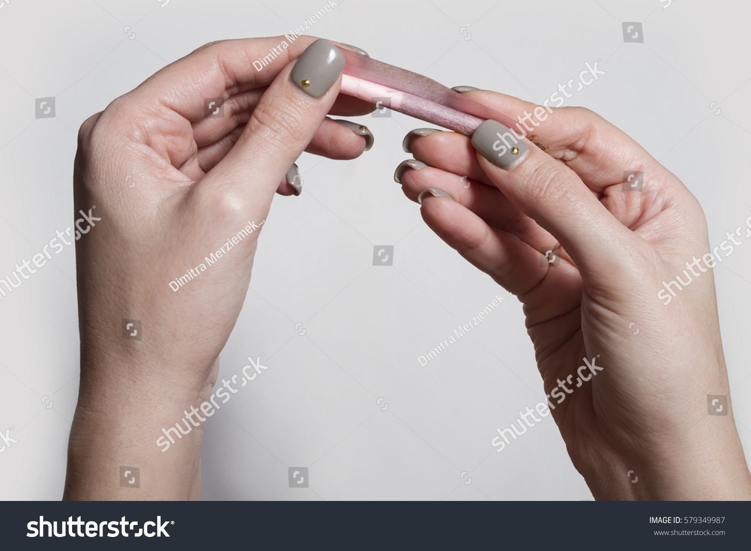 Hands Woman Rolling Cigarette Rolling Tobacco Stock Photo (Edit Now