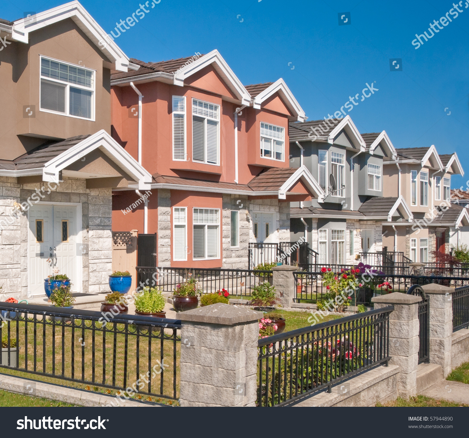 Luxury houses in vancouver canada stock photo 57944890 for Vancouver bc houses
