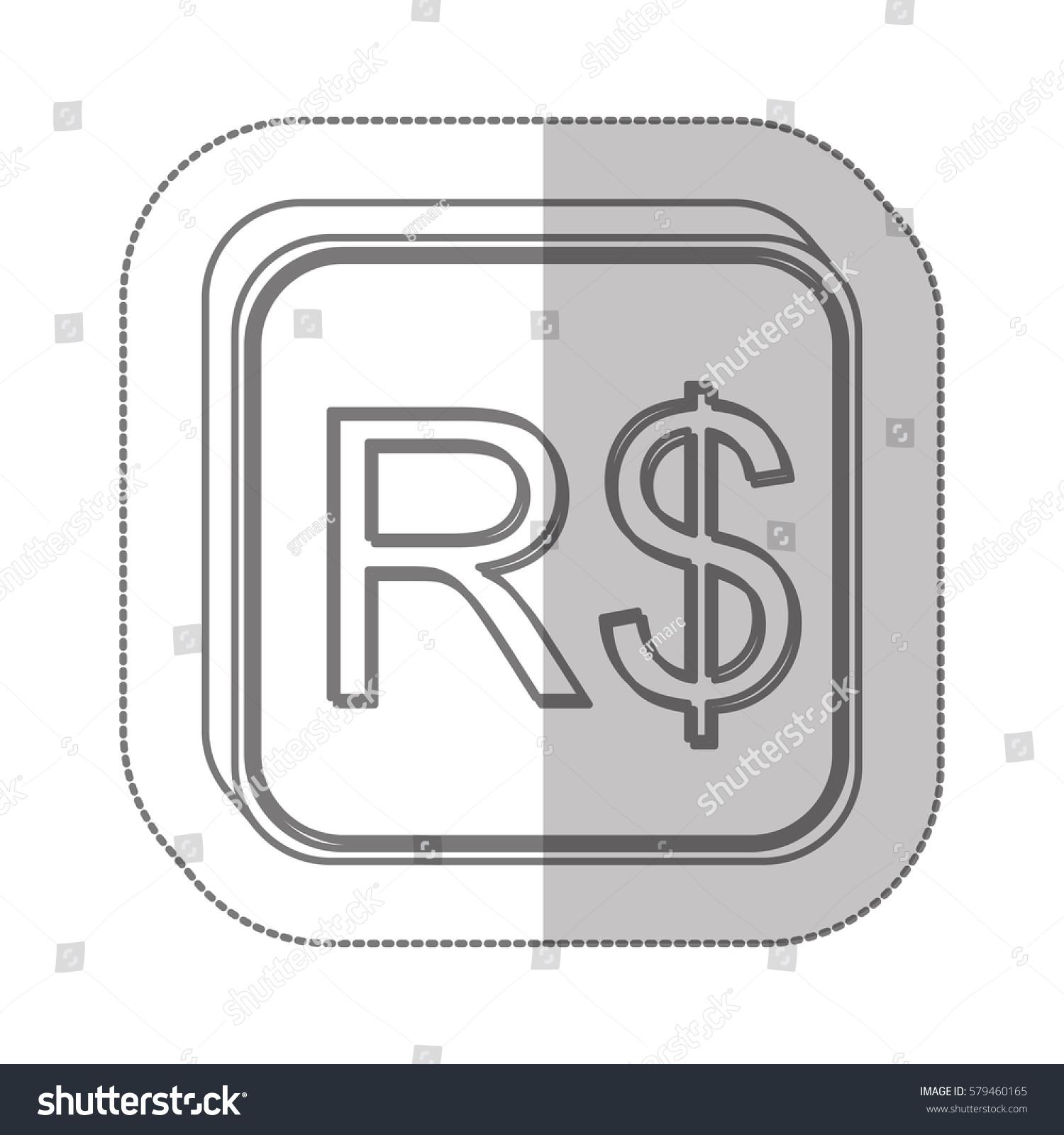 Real brazil currency symbol icon image stock vector 579460165 real brazil currency symbol icon image vector illustration buycottarizona Images