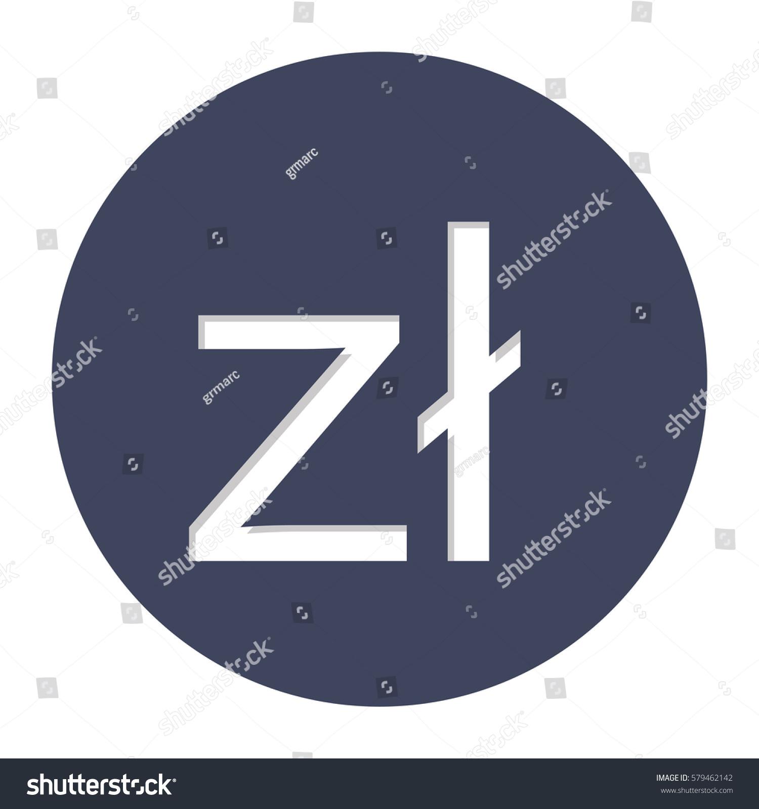 Polish zloty currency symbol icon image stock vector 579462142 polish zloty currency symbol icon image vector illustration buycottarizona Gallery