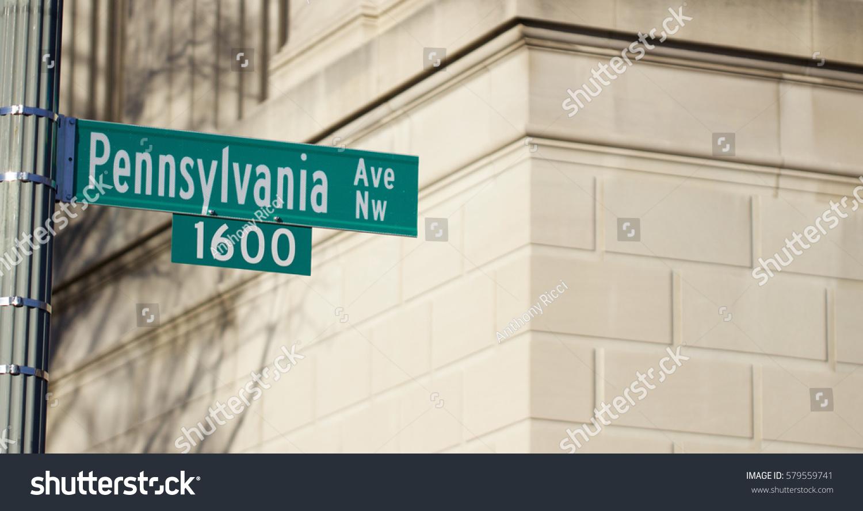 1600 Pennsylvania Avenue White House Address Stock Photo Edit Now