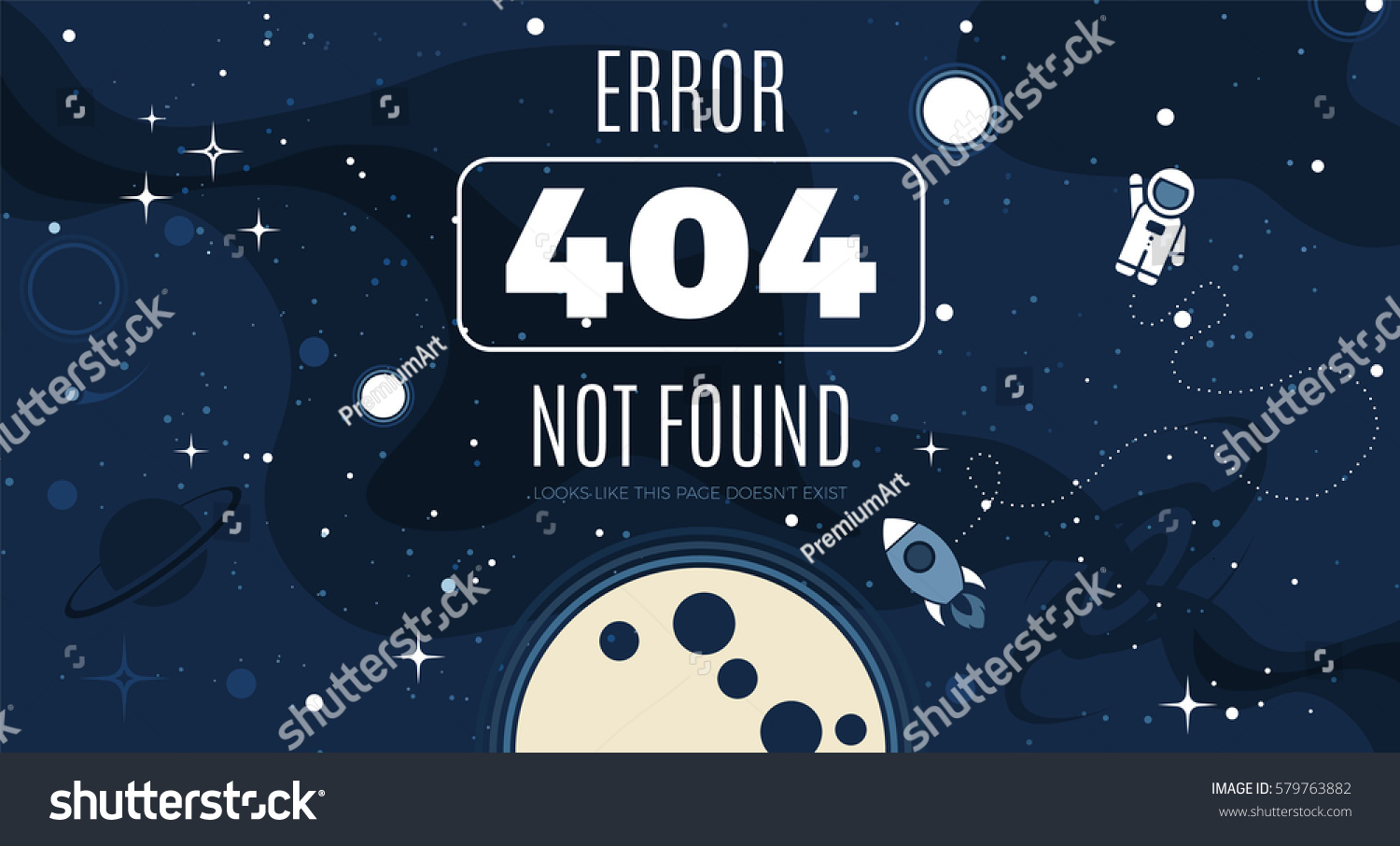 Background image 404 not found - Vector Flat Cosmos Design Background With Error 404 Page Not Found Text Cute Template