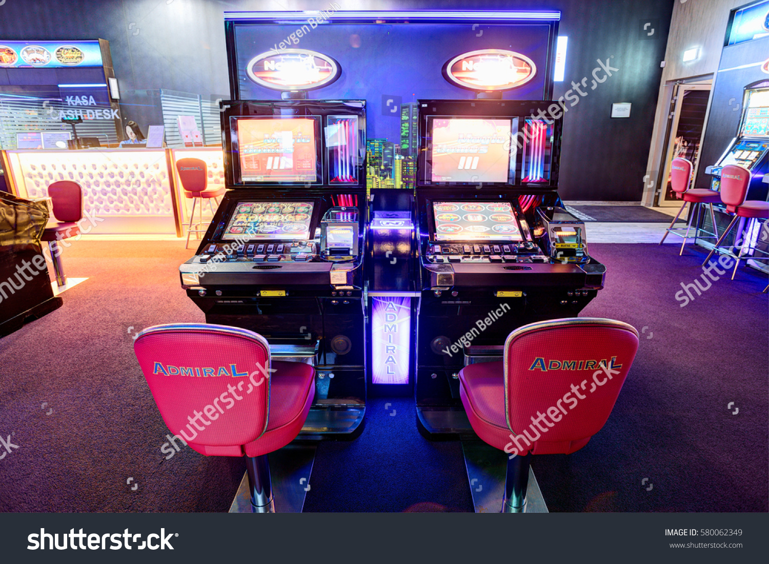 Casino Sport Bar Admiral Lithuania 09 Stock Photo Edit Now 580062349