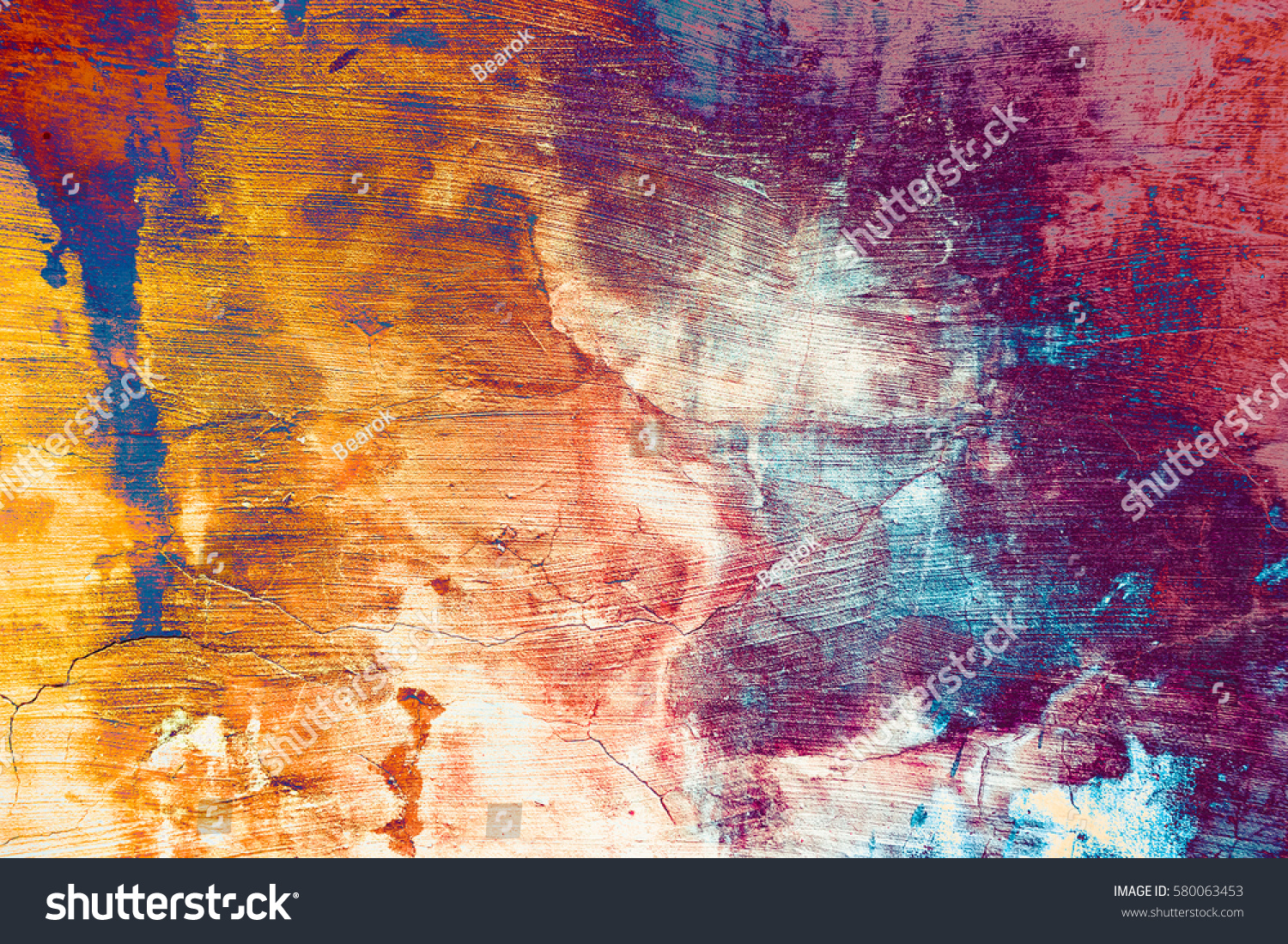 Amazing Free Colorful Grunge Textures Download: Grunge Background Wall Texture Colorful Paint Stock Photo