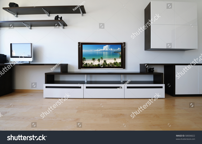 Modern Luxury Living Room Modern Luxury Living Room Interior No Stock Photo 58006822