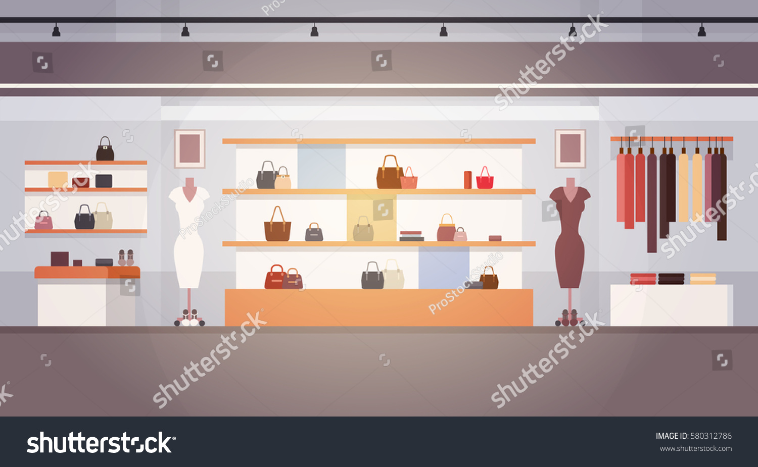 Big clothing stores