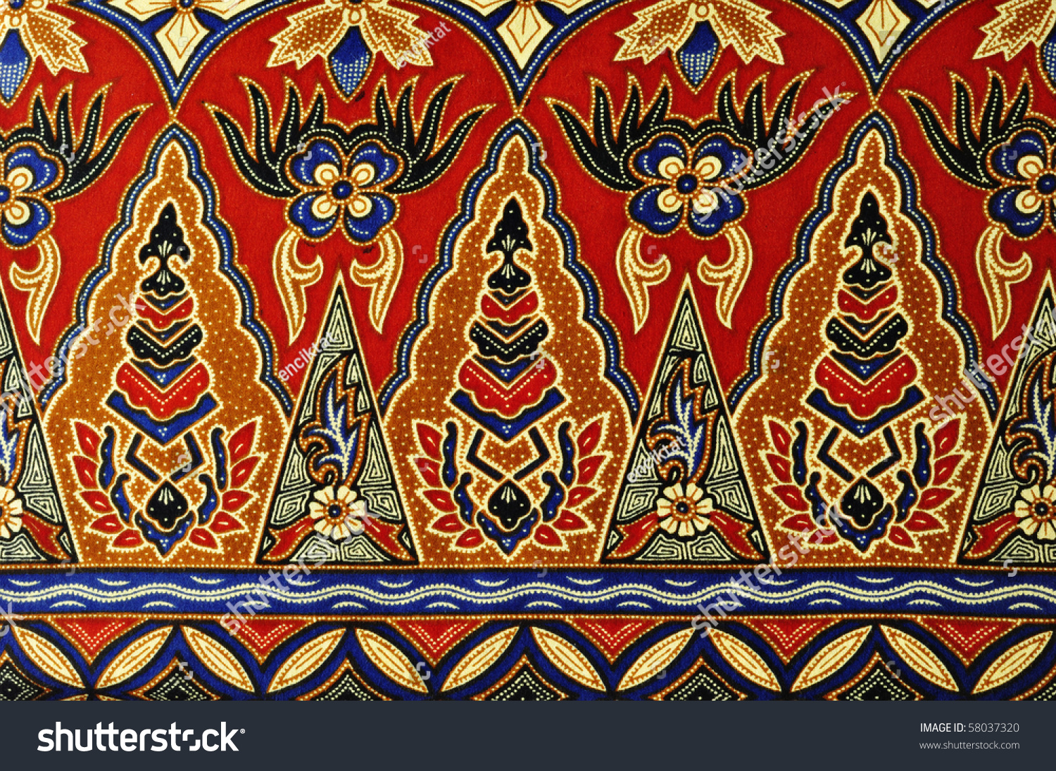 Background batik pattern stock photography image 803022 - Pattern Of Red Batik Background Stock Photo 58037320 Shutterstock 1500x1096