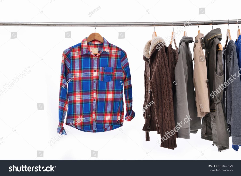 Set Female Clothing Coat Jacket On Stock Photo 580460179 - Shutterstock