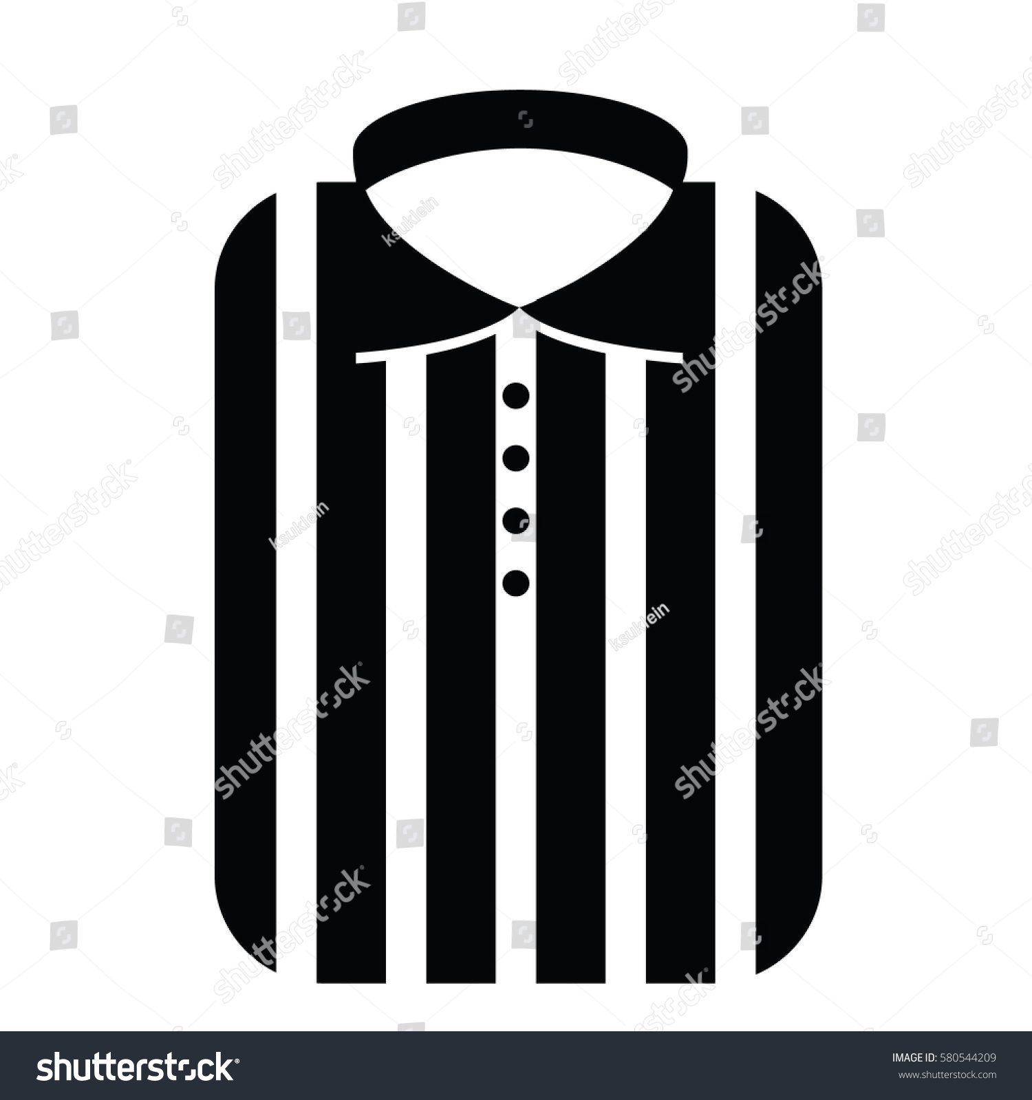 fashionable striped man shirt icon icon printable label black and white illustration of