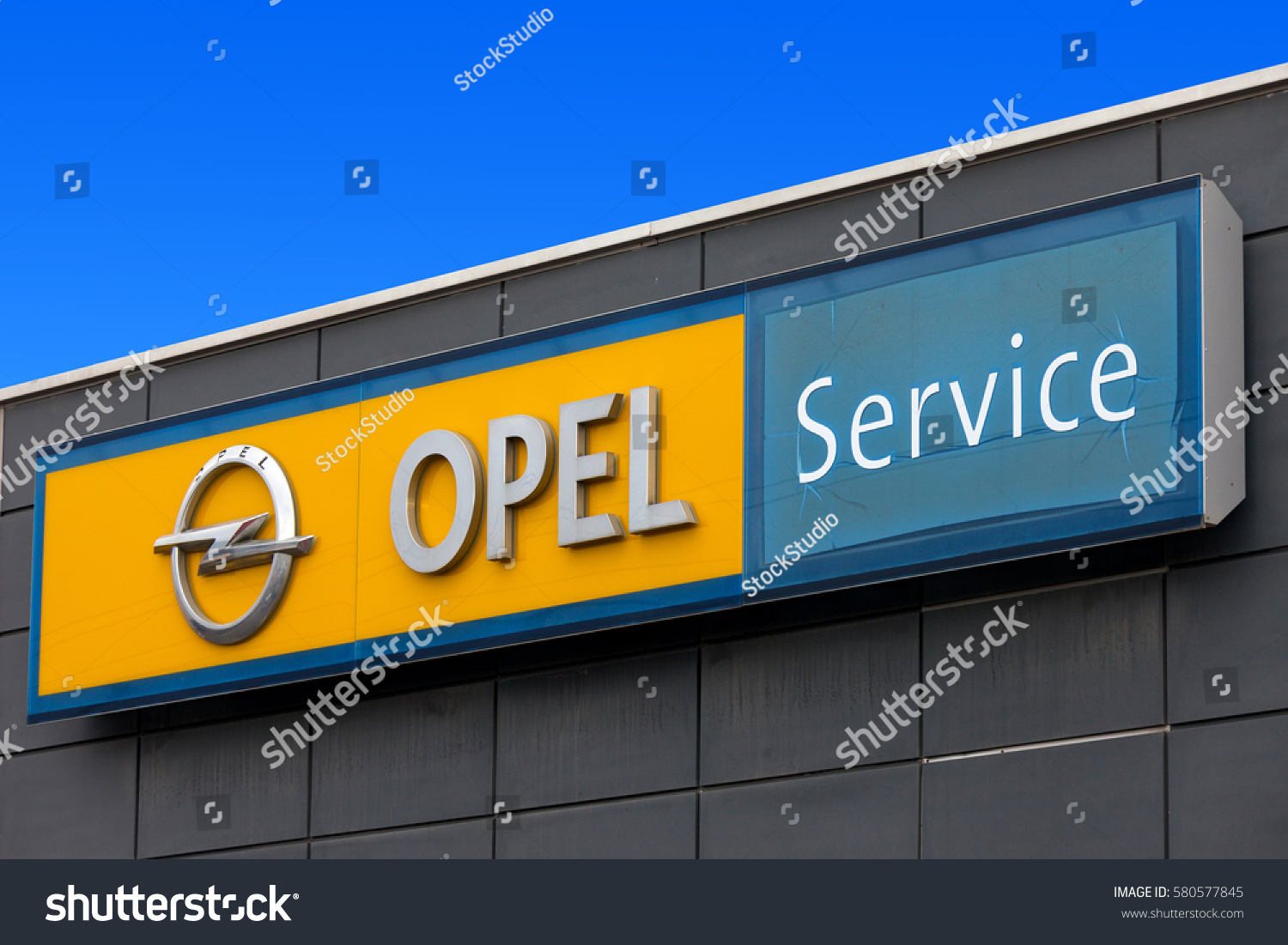 Rome Italy February 16 2017 Opel Stock Photo 580577845 Shutterstock