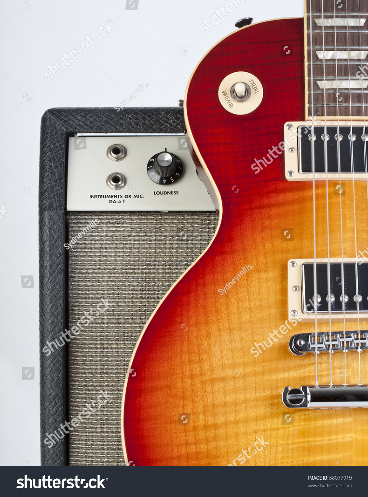 how to set up an electric guitar amp