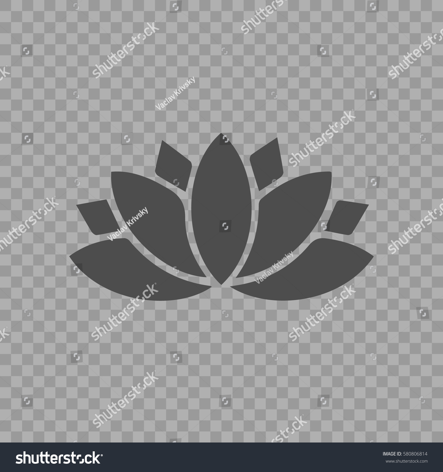 Lotus flower vector icon eps 10 stock vector royalty free lotus flower vector icon eps 10 spiritual simple silhouette symbol on transparent background izmirmasajfo