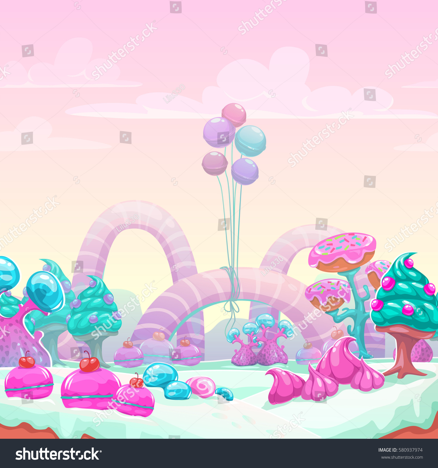 Fantasy Candyland Wallpaper Choice Image Wallpaper And