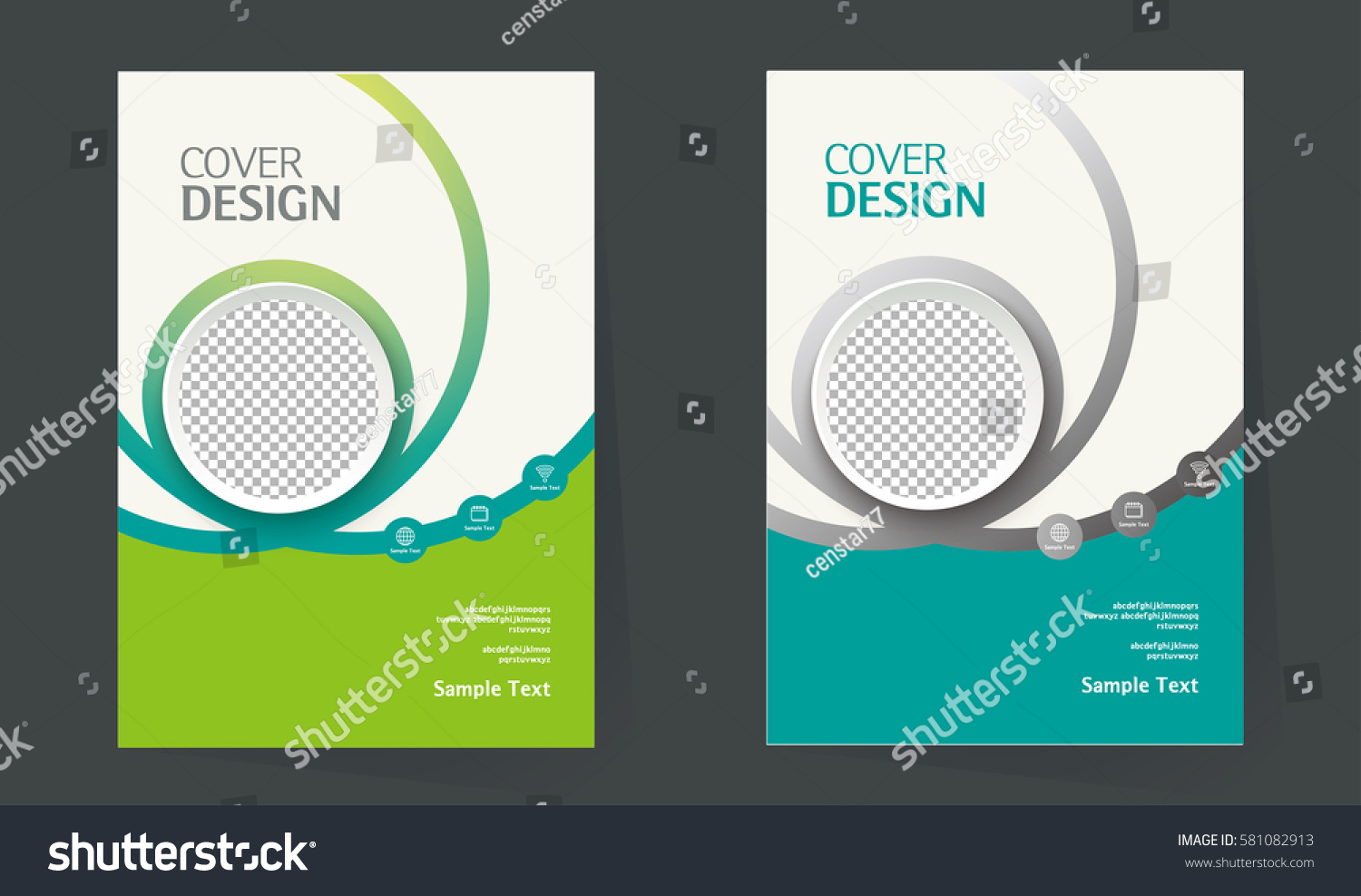 Cover Book Brochure Layout Vector : Book cover design layout brochure stock vector