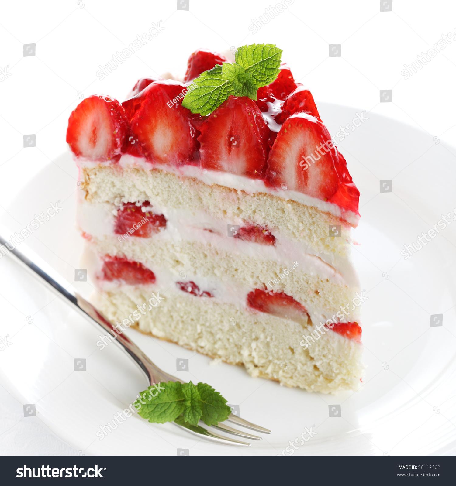 Shutterstock Cake Strawberry