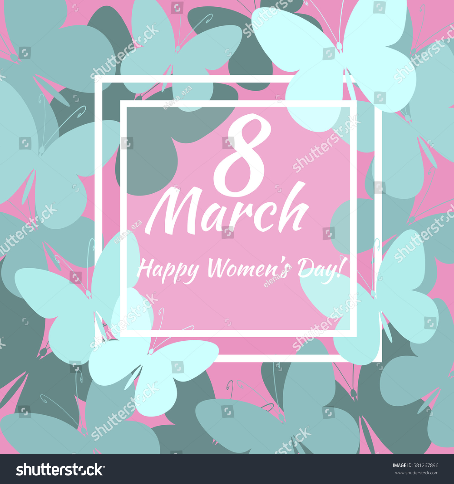 8 march vector card international womens stock vector 581267896 vector card for international womens day also template can be used as kristyandbryce Images