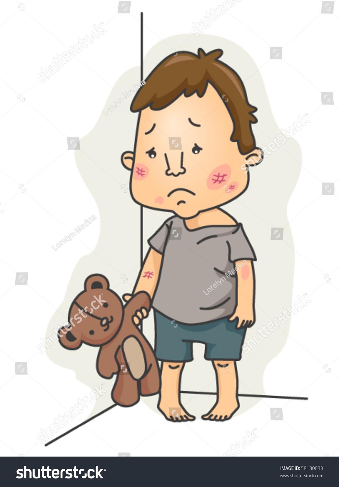 child abuse vector stock vector 2018 58130038 shutterstock rh shutterstock com Abuse Clip Art Black and White Verbal Abuse Clip Art