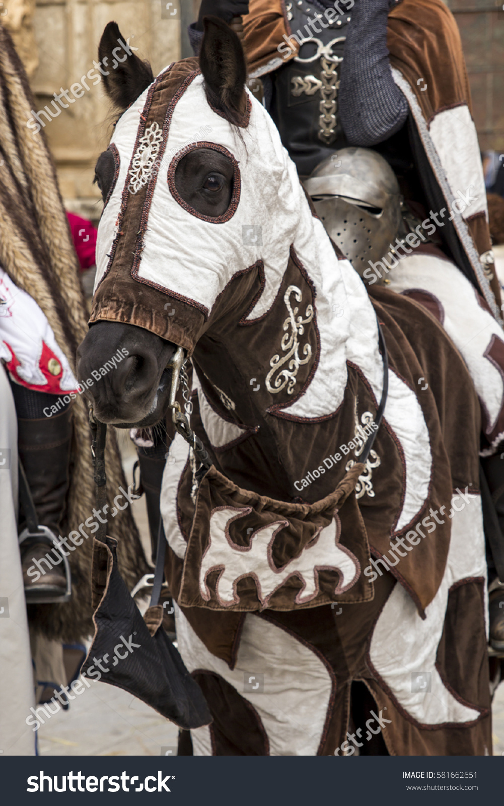 Medieval Horse Stock Photo Edit Now 581662651