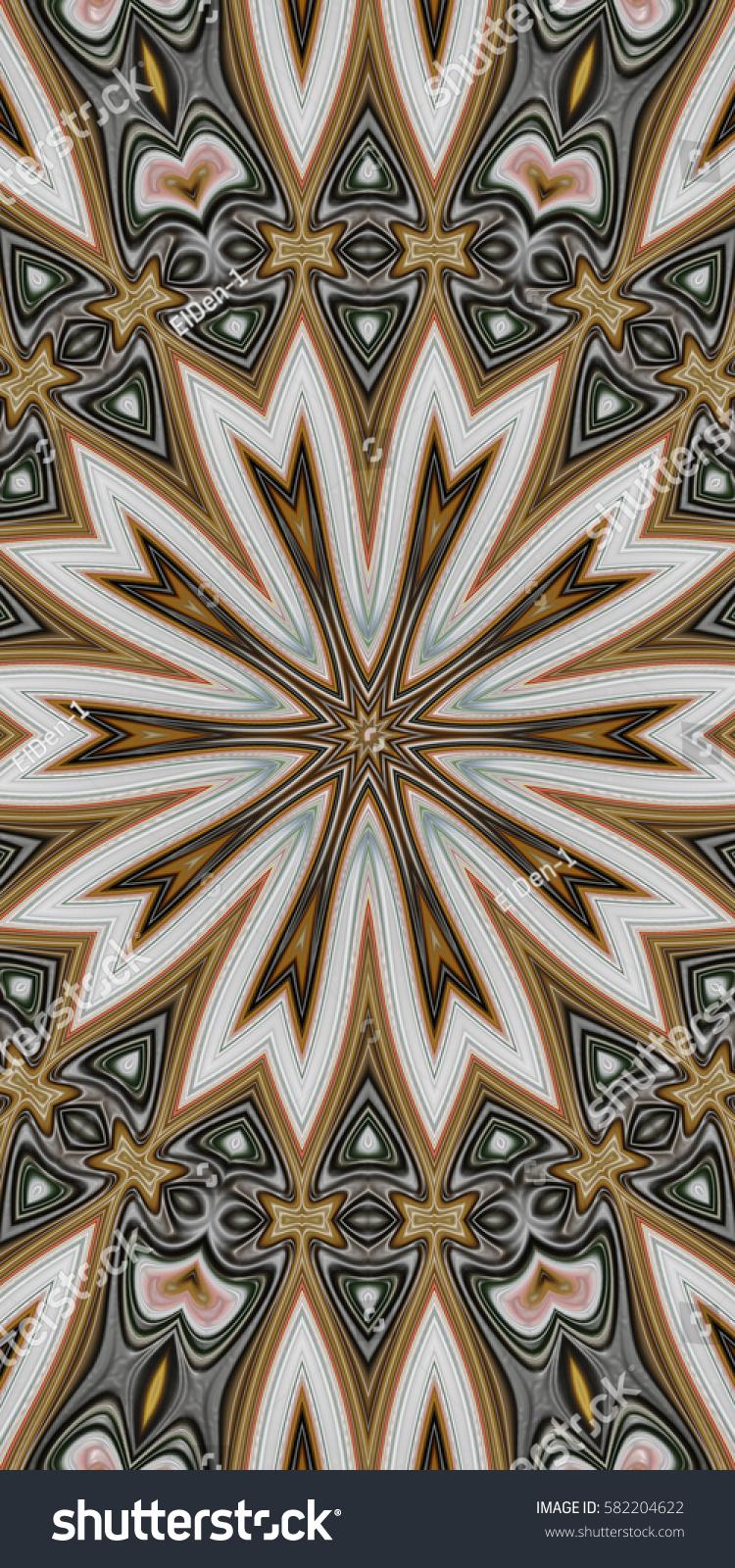 Royalty Free Stock Illustration Of Modern Floral Pattern