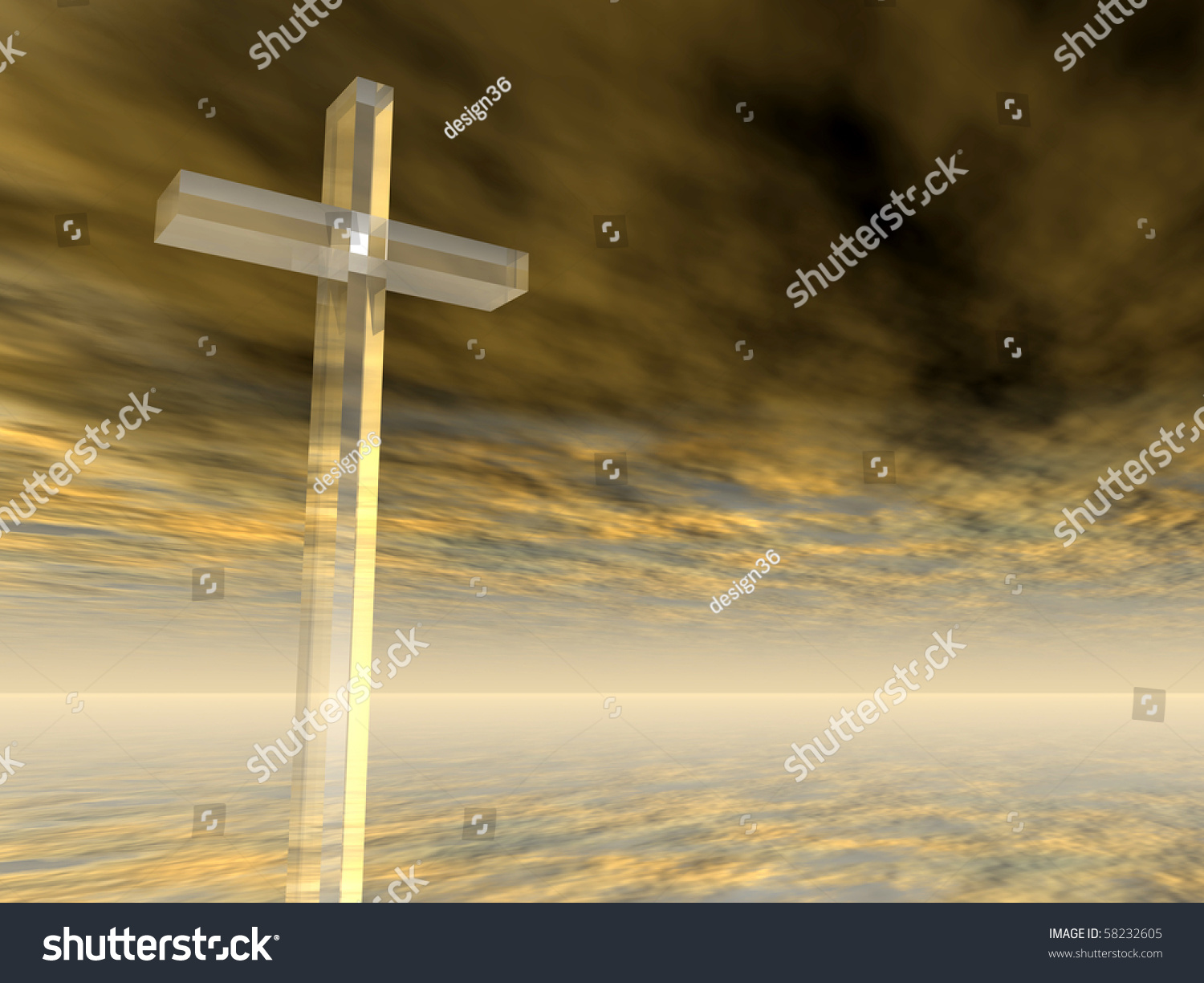 high resolution christian cross over a beautiful sky at sunset stock photo 58232605   shutterstock
