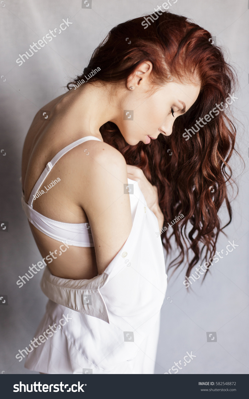 Curly redhead girl nude confirm