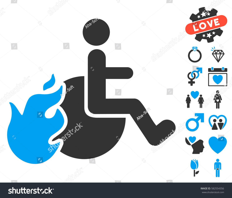 Fired Patient Icon Bonus Marriage Symbols Stock Vector 582554356