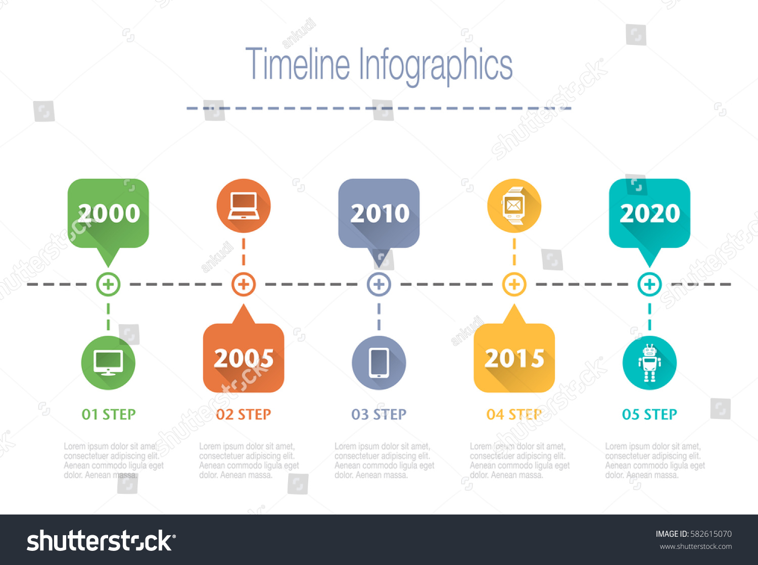 Business overview visualization timeline infographic data stock business overview visualization timeline infographic data business template for presentation vector infographics accmission Gallery